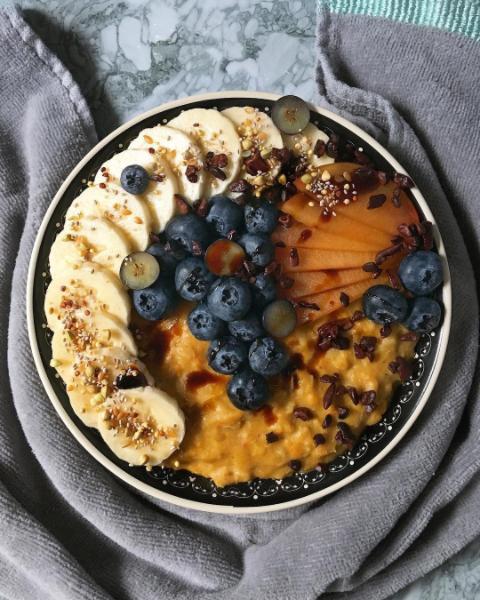– Pumpkin Pie Oats