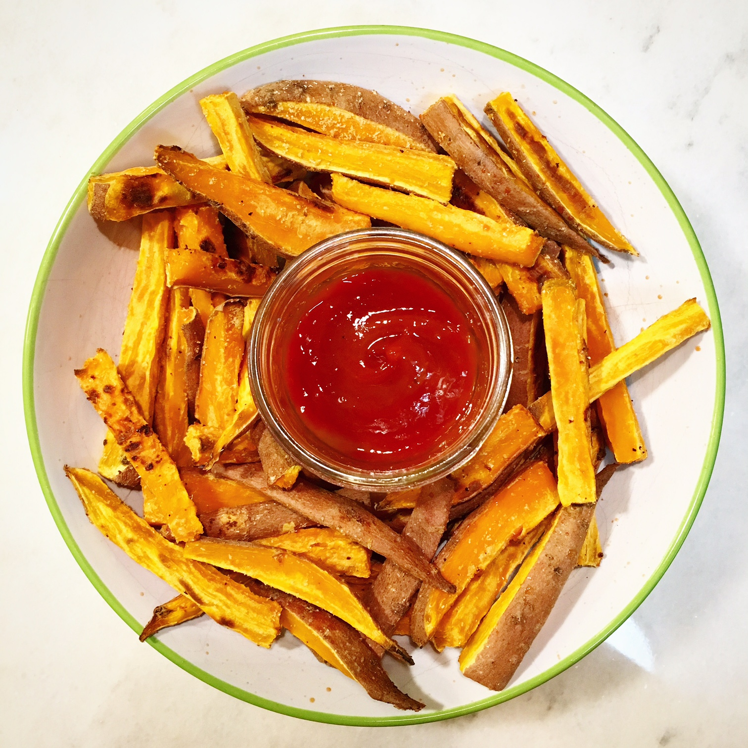 – Baked Sweet Potato Fries